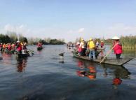 90余名党员携手参加保护滇池志愿服务活动
