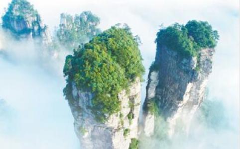 """【新中国的""""第一""""·70年】第一个国家森林公园张家界:从种山林到种风景"""